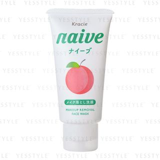 Kracie - Naive Makeup Removal Face Wash Peach Leaf