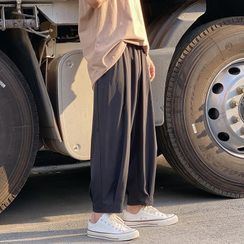 JUN.LEE - Plain Jogger Sweatpants