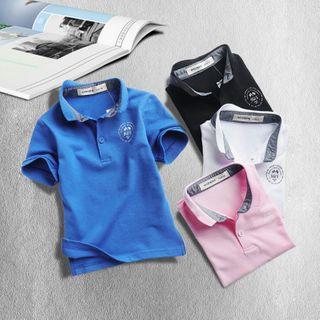 Happy Go Lucky - Kids Short-Sleeve Polo Shirt