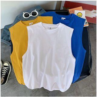 EOW - Plain Sleeveless T-Shirt