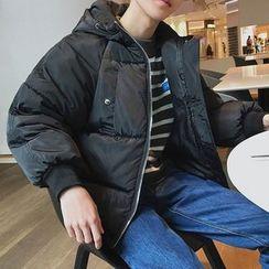Balak - Couple Matching Hooded Puffer Jacket