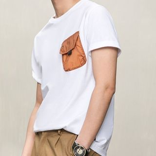 Orizzon(オリッゾン) - Pocketed Short-Sleeve T-Shirt