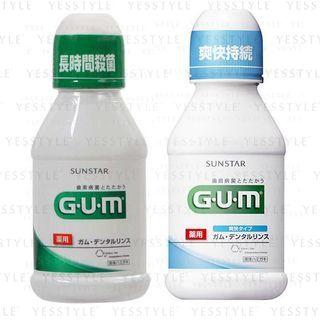 Sunstar - Gum Mouthwash 80ml - 4 Types