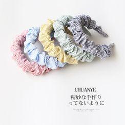 Kawano - Plaid Fabric Headband