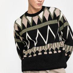 Orizzon - 图案毛衣