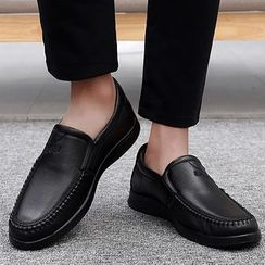 MARTUCCI - Faux Leather Loafers