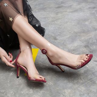 Kireina - High Heel  Ankle Strap Sandals