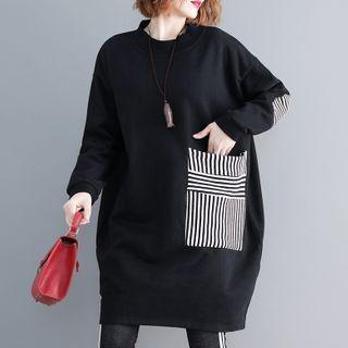Laurinda - 條紋拼接衛衣