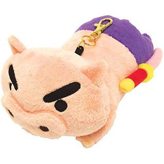 T'S Factory - Crayon Shin-Chan Plush Pass Holder (Buriburizaemon)