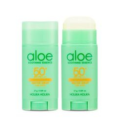 HOLIKA HOLIKA (ホリカホリカ) - Aloe Water Drop Sun Stick SPF50+ PA++++ 17g