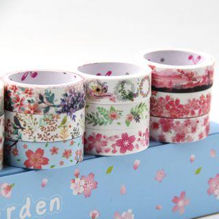 Setaria - Floral Print Masking Tape