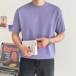 Seoul Homme - Colored Summer Knit Top