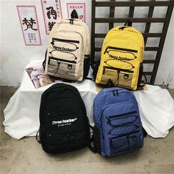 Mulgam - Lettering Oxford Backpack