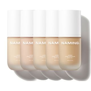 NAMING - Layered Cover Foundation - 5 Colors