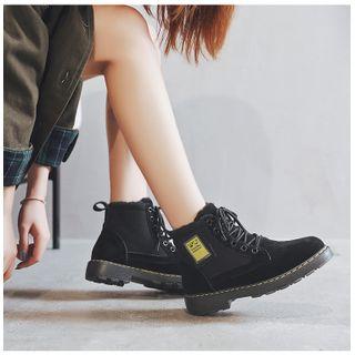 Benpunas - Lace-Up Short Boots