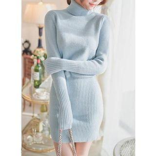 Sienne - Turtleneck Sweater Dress