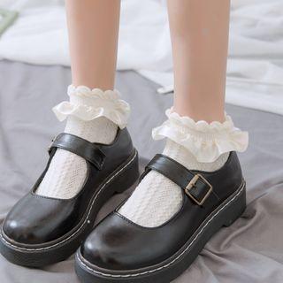 Mimiyu - Set of 3: Ruffled Socks