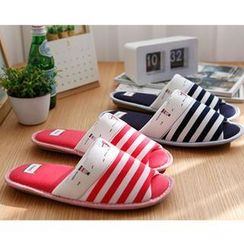 iswas - Stripe Slippers