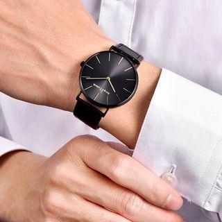 SENDA - Genuine Leather Strap Watch