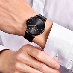 SENDA - Genuine Leather Strap Watch