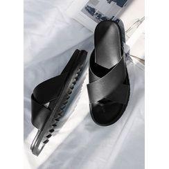 JOGUNSHOP(ジョグンショップ) - Cross-Strap Sandals