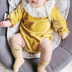 MOM Kiss - 嬰兒長袖連體衣