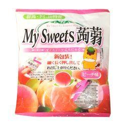 Three O'Clock - Shimonita My Sweets Konnyaku Jelly Peach Flavor