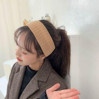 LANWO - Ribbed Knit Headband