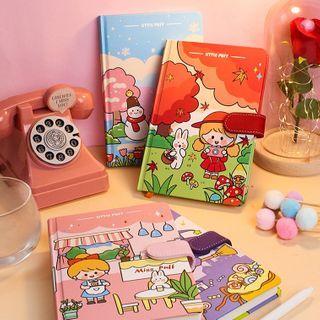 SASHI - Cartoon Print B6 Notebook