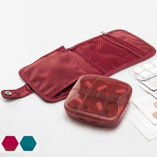 Trudie - 旅行套装: 药物盒 + 小袋