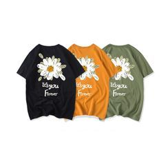 JECKO - Short-Sleeve Floral T-Shirt