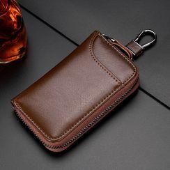 ETONWEAG - 真皮钥匙链条小袋