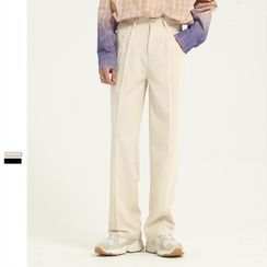 FAERIS - Straight-Cut Pants