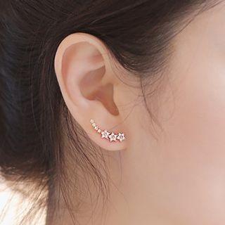 Knick Knack - Rhinestone Star Earrings