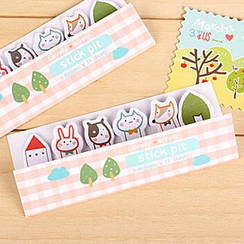 Cute Essentials - Set of 6: Assorted Mini Sticky Notes