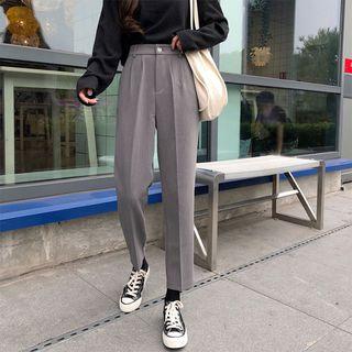 monroll(モンロール) - Cropped Straight Leg Dress Pants