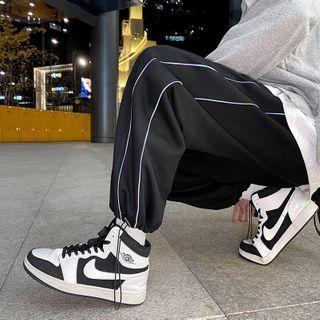 Zipdunk - Drawstring-Cuff Sweatpants