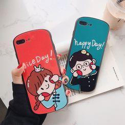 Cellfie - Cartoon Phone Case - iPhone 6 / 6s / 6 Plus / 6s Plus / 7 / 7 Plus / 8 / 8 Plus / X / XR / XS / XS MAX