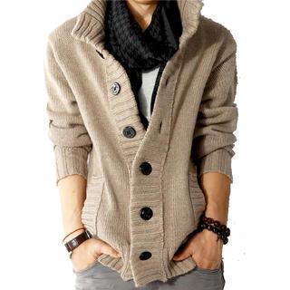 JORZ - Button-Down Knit Jacket