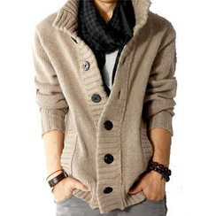JORZ - Button-Down Knit Jacket
