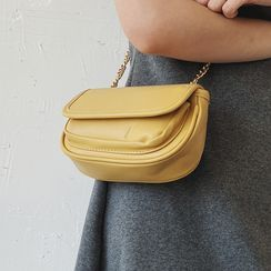 JAMEL - Chain Flap Crossbody Bag