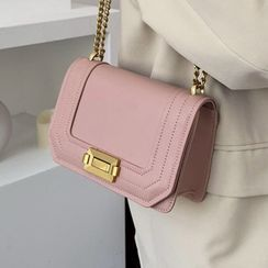 Kunado - 仿皮鏈條手提包