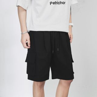 EOW - Wide-Leg Cargo Shorts