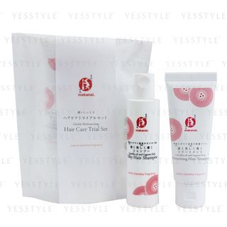 Makanai Cosmetics - Gentle Moisturizing Hair Care Trial Set