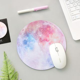 OH.LEELY - Galaxy Print Mouse Pad