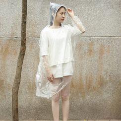 Lazy Corner - Disposable Raincoat