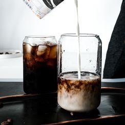 Moolauno - Glass Drinking Cup / Glass Drinking Straw / Set