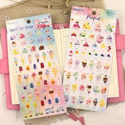 Katiz - 冰淇淋日記貼紙