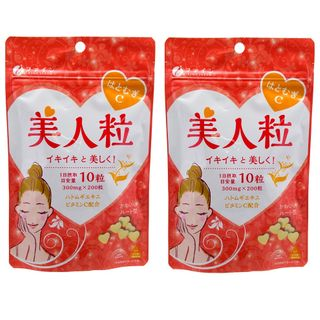 Fine Japan - Coix Seed Beauty Chewing Tablet (2 Packs)