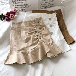 Wilder Dreams - Ruffled Mini Skirt